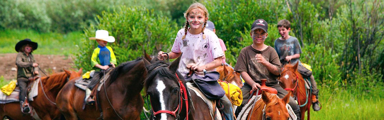 Horseback Riding, Yellowstone & Tetons Family Multisport Adventure Tour