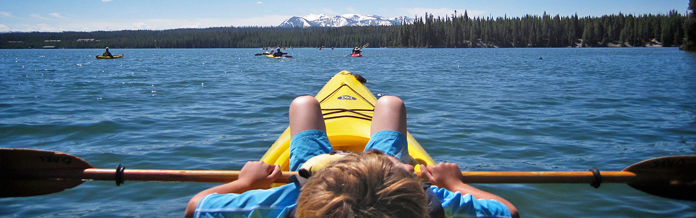 Kayaking, Yellowstone & Tetons Family Multisport Adventure Tour