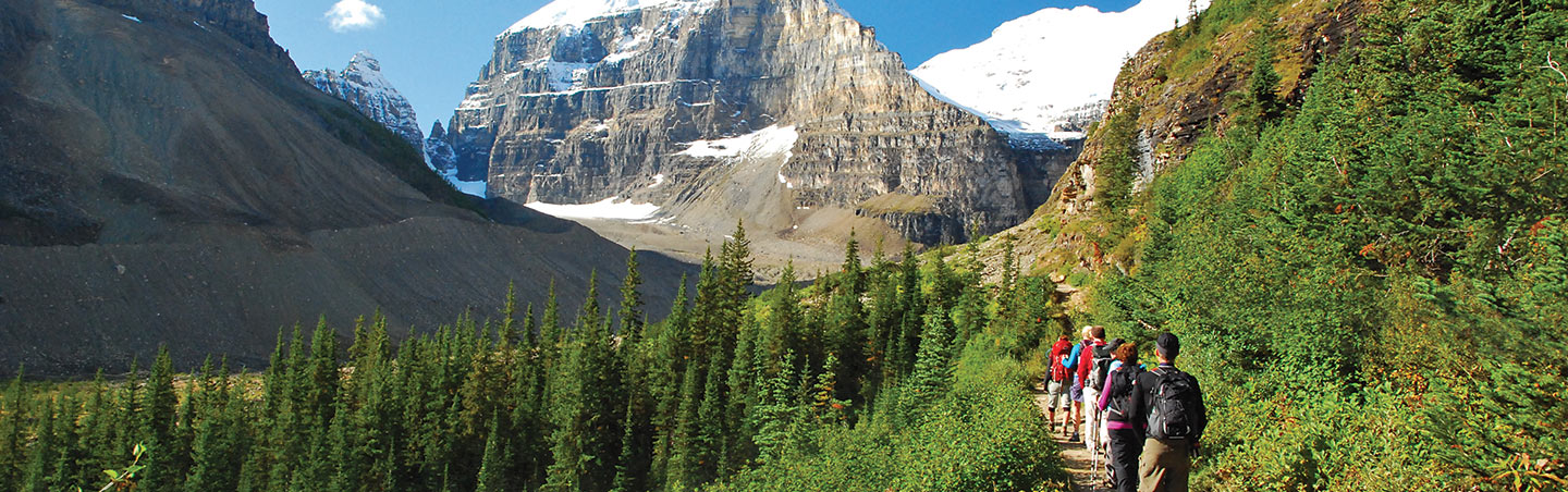 Canadian Rockies family hiking trip
