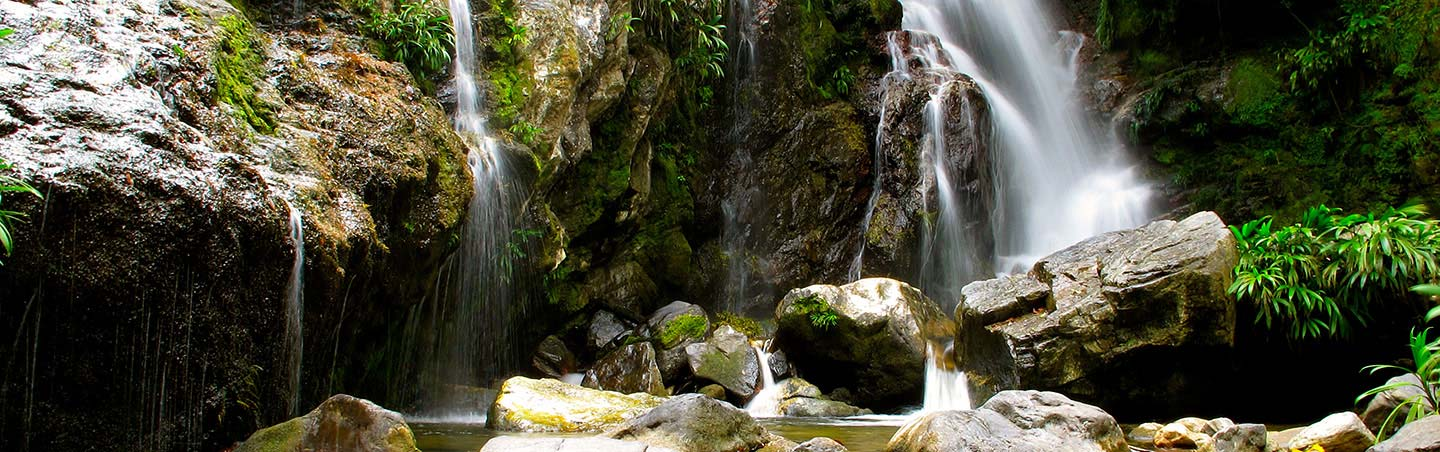 Waterfalls - Backroads Colombia walking and hiking tour
