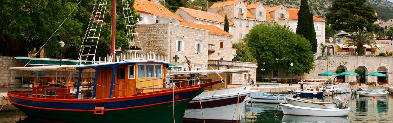 Boats - Dalmatian Coast Croatia Walking & Hiking Tours