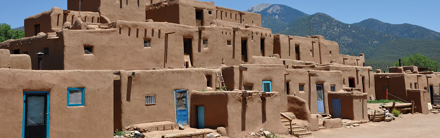 Taos Pueblo - Backroads New Mexico walking and hiking tour