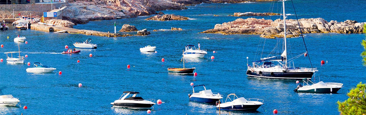 Boats - Provence & Costa Brava Walking Tours