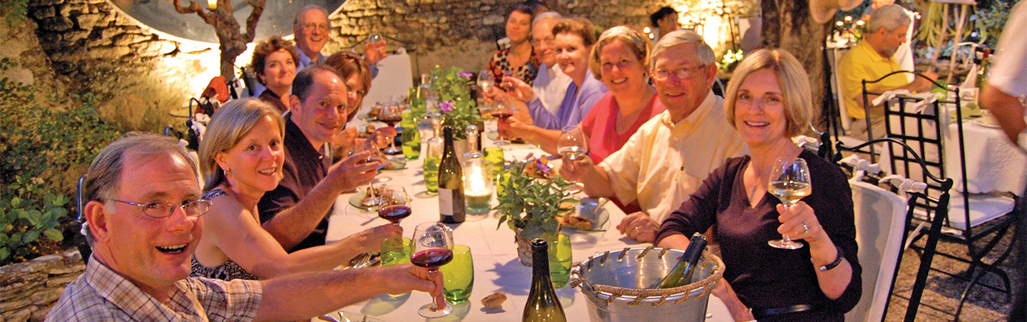 Dinner - Backroads Provence Walking & Hiking Tour
