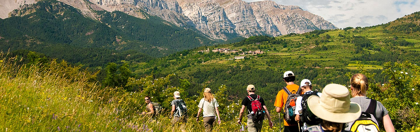 Hiking - Spanish Pyrenees to Costa Brava Family Breakaway Walking & Hiking Tour