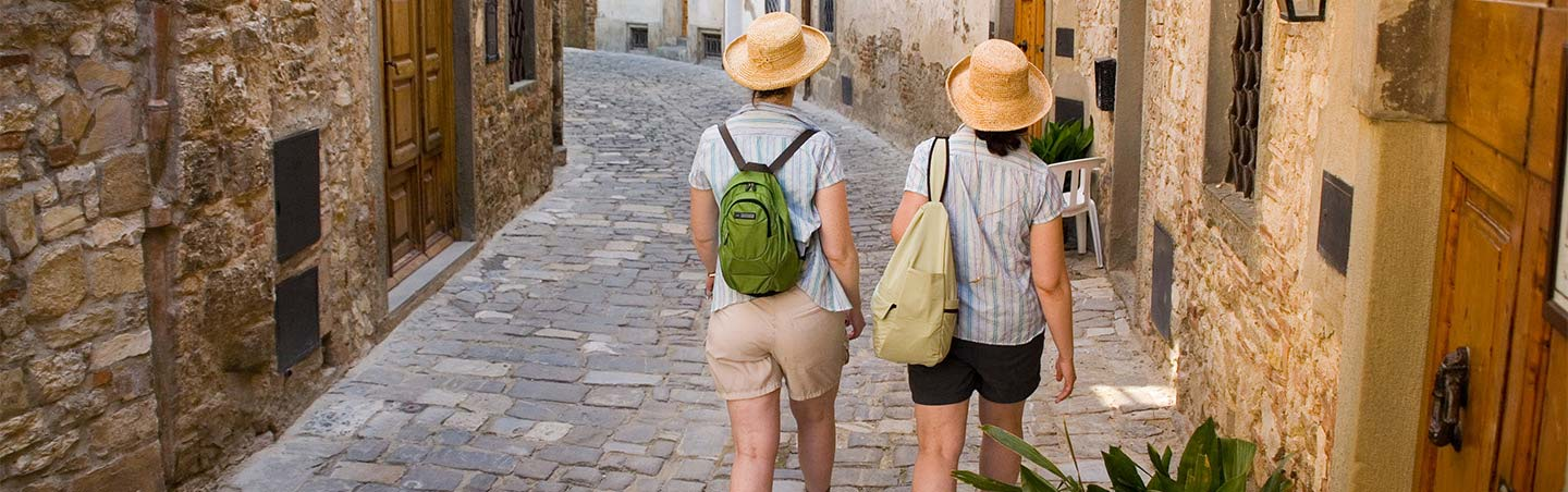 Walking tour in Tuscany and Umbria, Italy