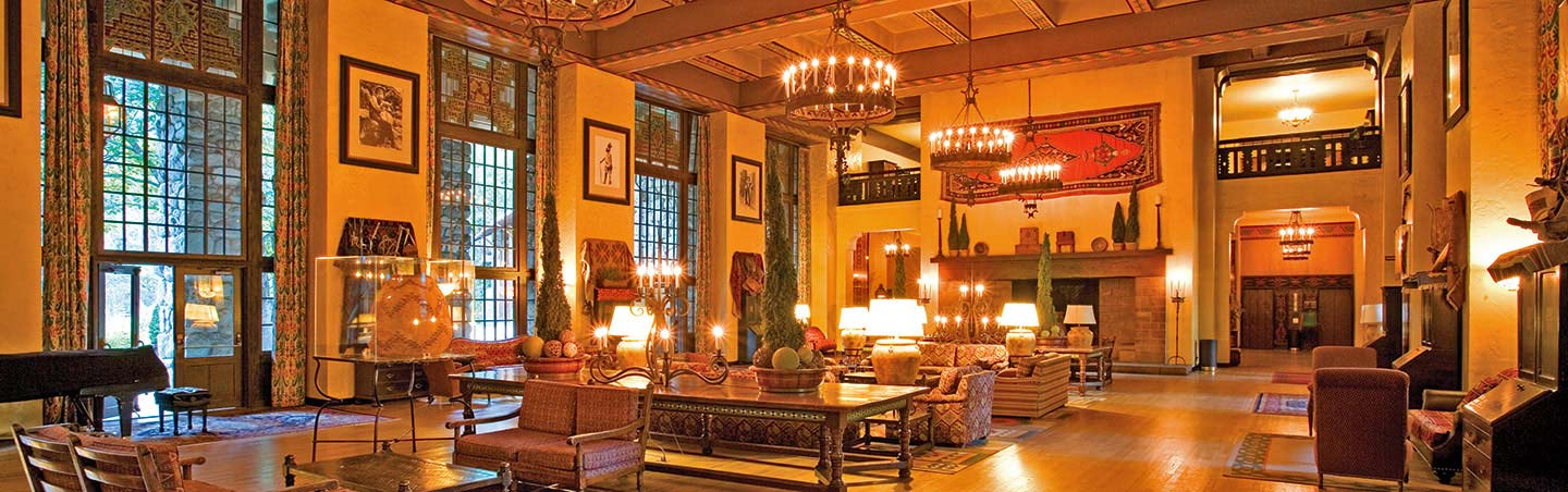 Ahwahnee Hotel, Interior - Backroads Yosemite Family Breakaway Multisport Adventure Tour