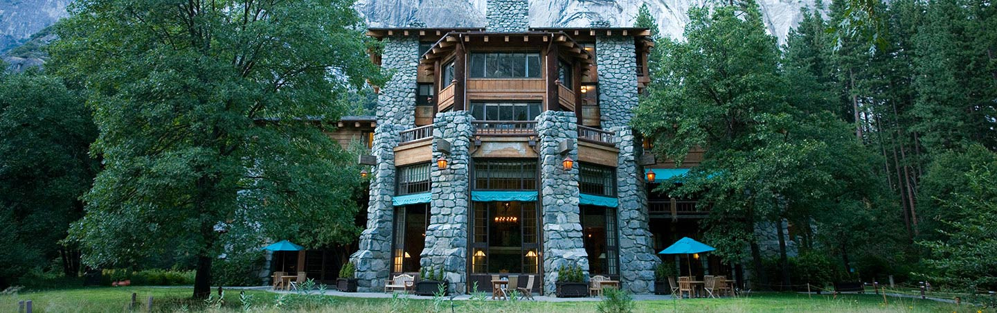 Ahwaynee Hotel - Backroads Yosemite Family Breakaway Multisport Adventure Tour