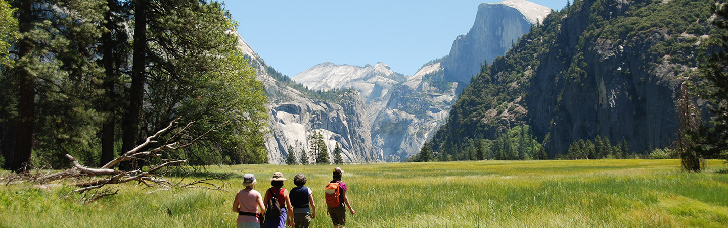 Yosemite Valley family hiking trip