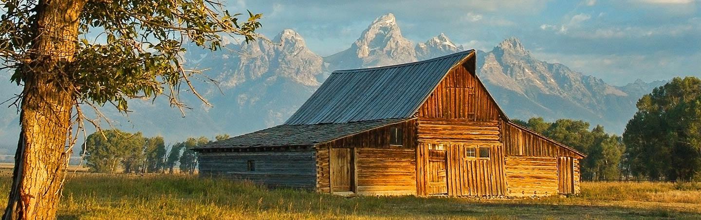 Moulton Barn - Backroads Yellowstone & Tetons Multisport Adventure Tour