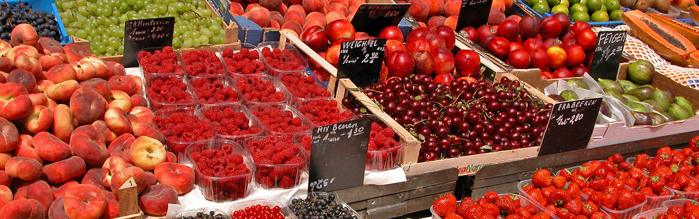Farmers Market, Backroads Czech Republic & Austria Walking & Hiking Tour