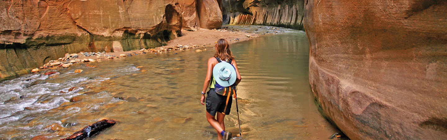 The Narrows Hike, Zion National Park, Utah