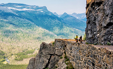 Glacier Montana Biking Tour