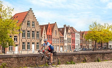 Holland and Belgium Biking Thumb