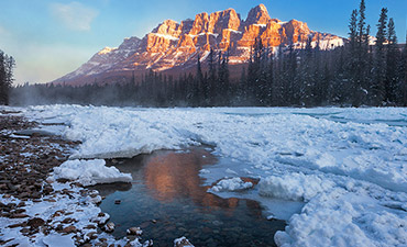Canadian Rockies Winter Multi-Adventure Tour