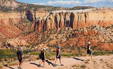 New Mexico Walking & Hiking Tours