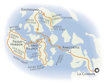 San Juan Islands Bike Tours Washington Bicycling Backroads