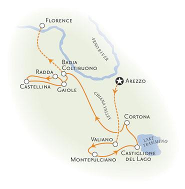Biking Tour Arezzo Itally