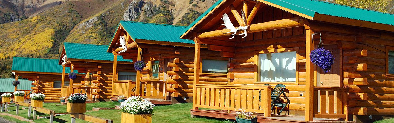Sheep Mountain Lodge - Backroads Alaska Bike Tours