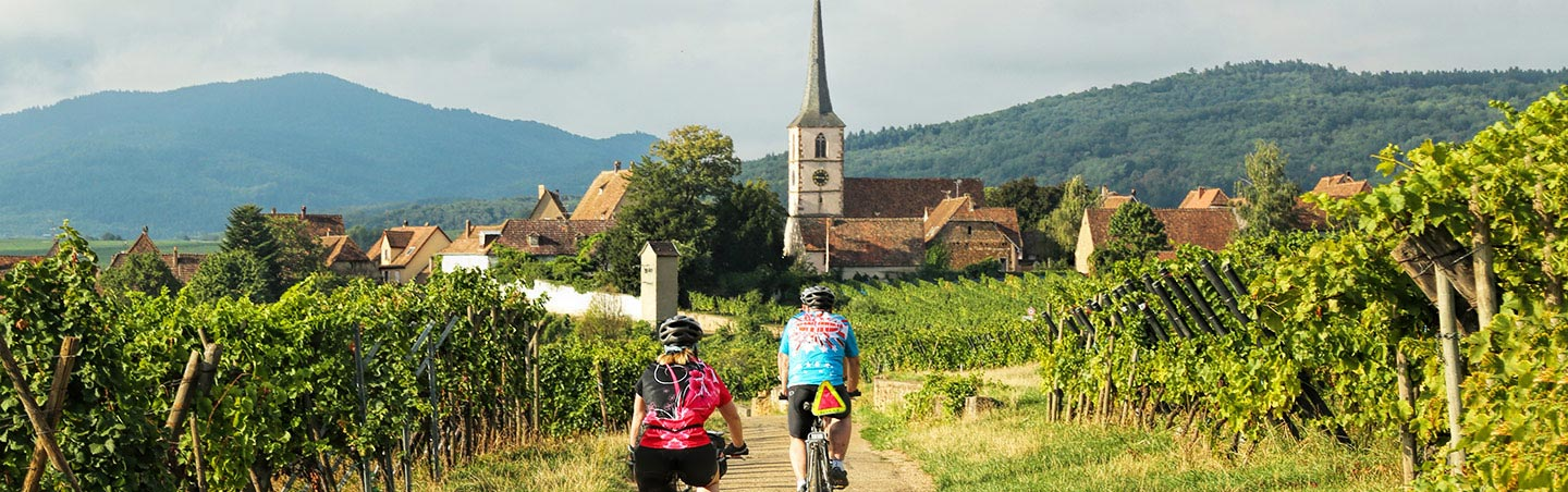 Biking on Backroads Champagne & Alsace France Bike Tours
