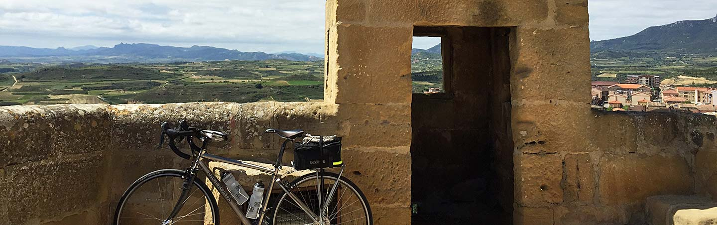 Biking in French Pyrenees and Spain's Rioja Region