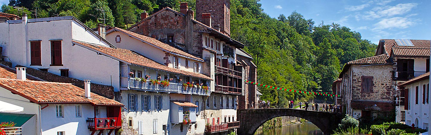 Saint Jean Pied de Port on our Basque Country Family Multisport Adventure Tour