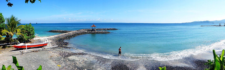 Beach on Backroads Bali Bike Tour