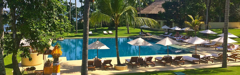 Pool on Backroads Bali Bike Tour