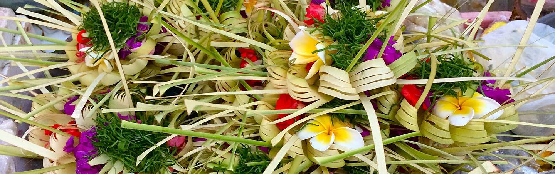 Flowers - Backroads Bali Bike Tour