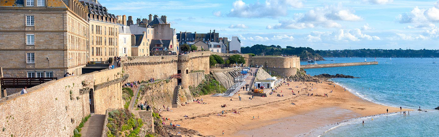 St Malo, Brittany, France - Backroads Bike Tour