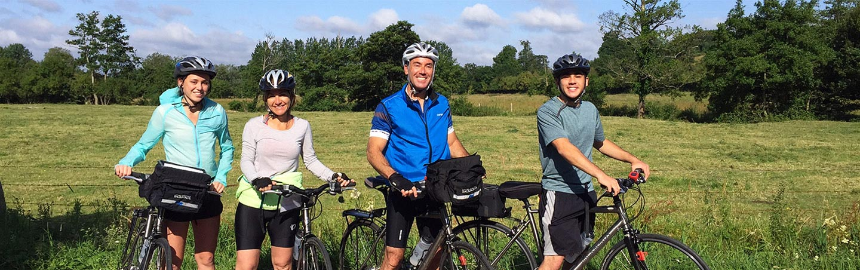 Biking on Bacxkroads Brittany & Normandy Family Bike Tour