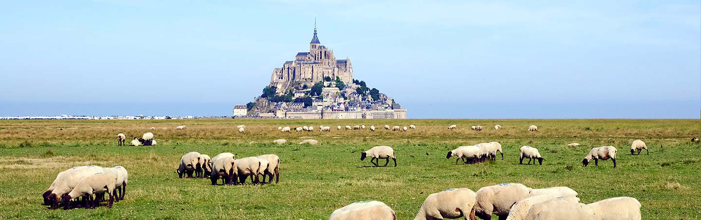 Mont St. Michael - Brittany & Normandy Family Bike Tour