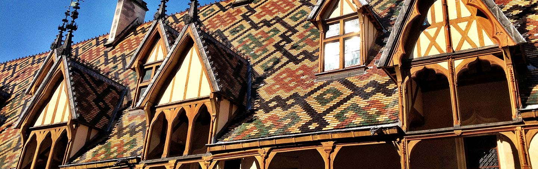 Rooftops - Backroads Chablis & Burgundy Bike Tour