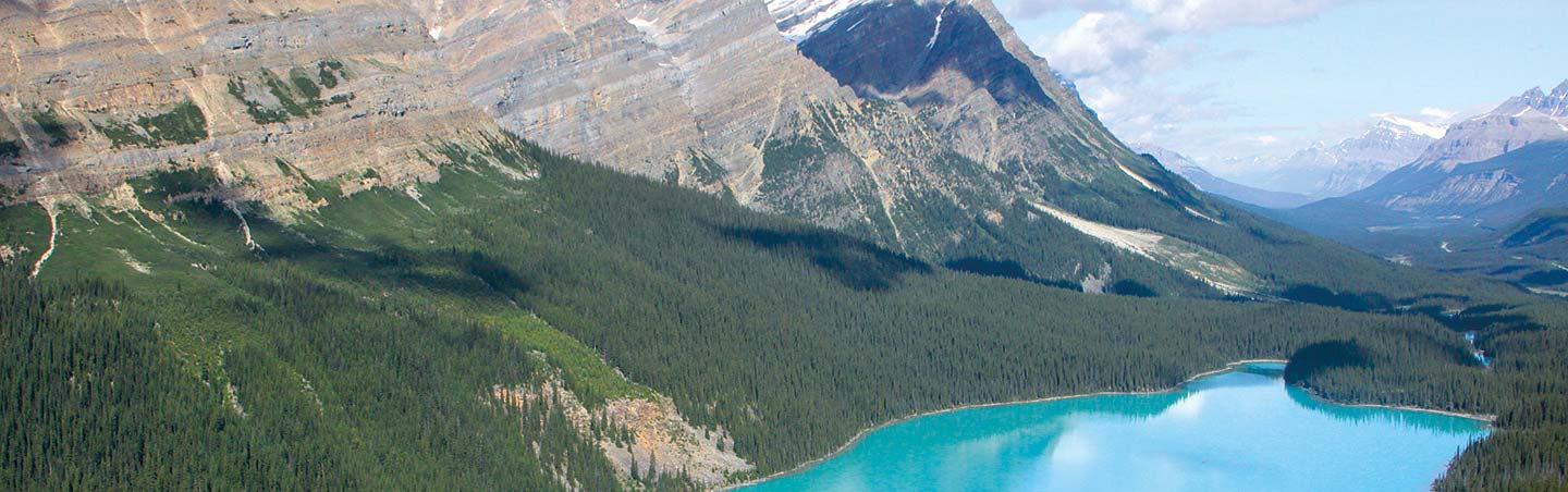 Peyto Lake, Bow Summit - Backroads Canadian Rockies Family Bike Tour