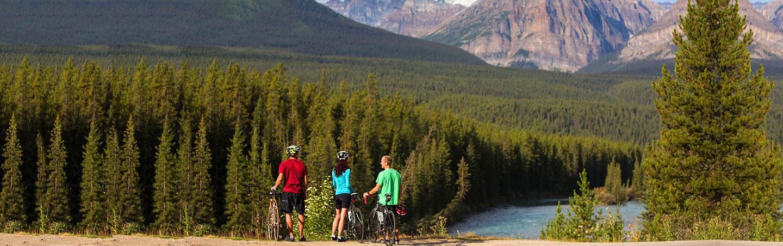 Biking on Backroads Canadian Rockies Bike Tour