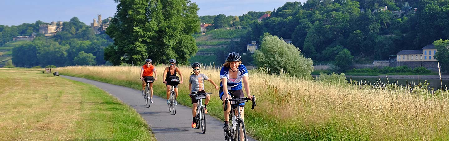 Cylcing on our Berlin-Dresden Germany Family Bike Tours