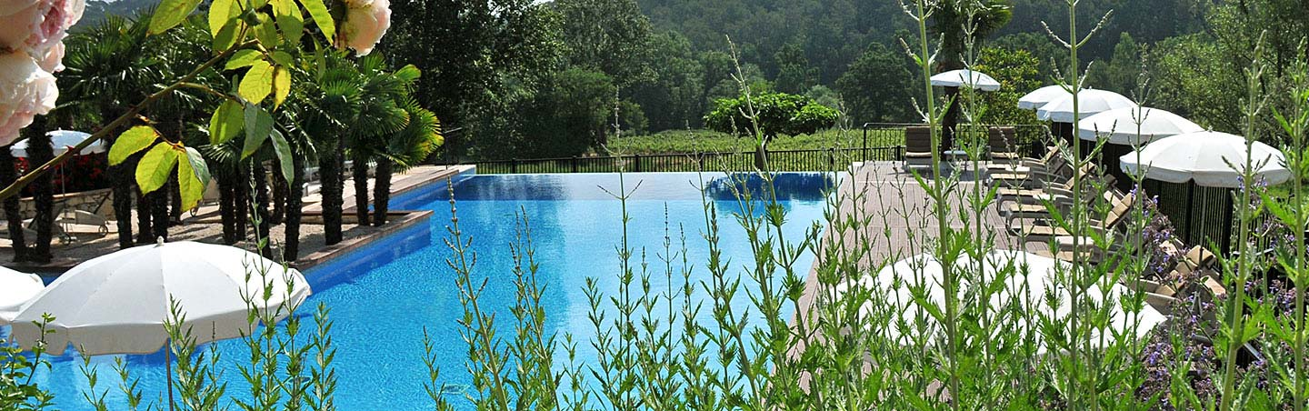 Pool at Chateau de Berne - Backroads Provence to the French Riviera Bike Tour