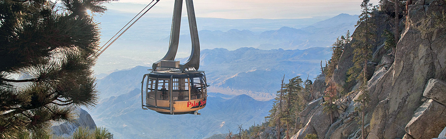 Palm Springs Aerial Tramway - Backroads Palm Springs & Joshua Tree Walking & Hiking Tour