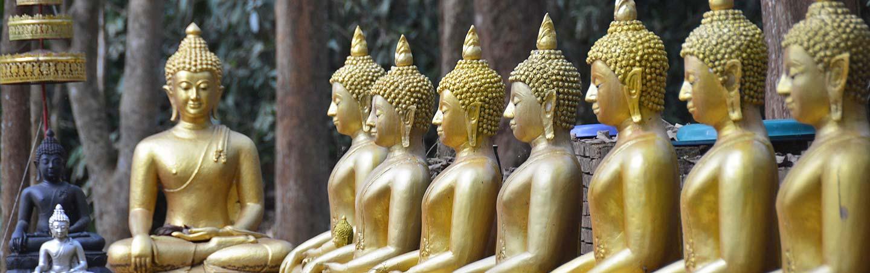 Buddhist Statues, Thailand
