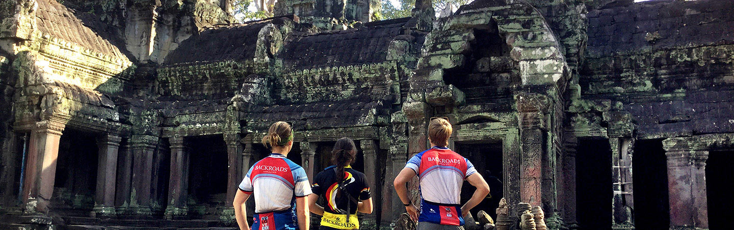Angkor Wat Ruins on Backroads Vietnam, Cambodia & Laos River Cruise Bike Tour