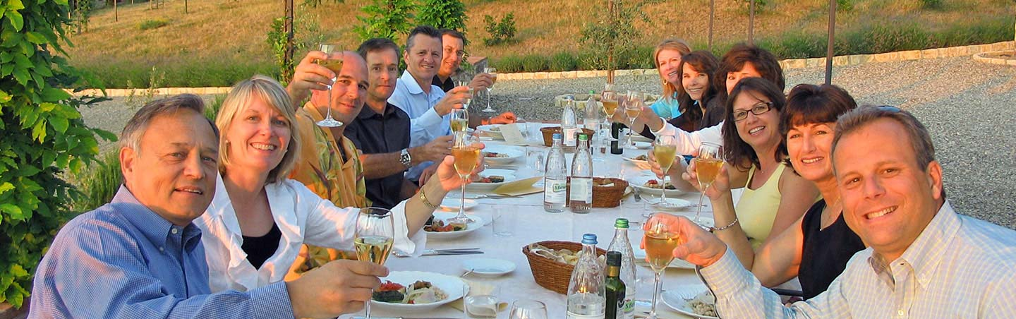 Dining in Italy - Backroads Parma to Verona Bike Tour