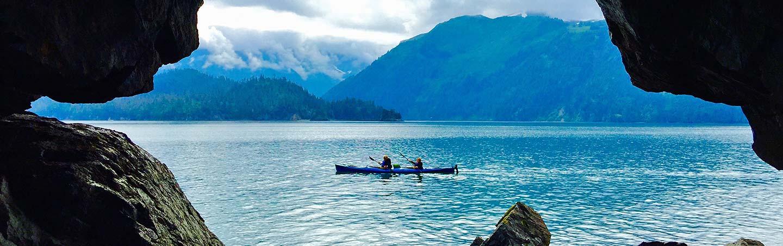 Kayaking on Alaska's Kenai Peninsula Family Multisport Adventure Tour
