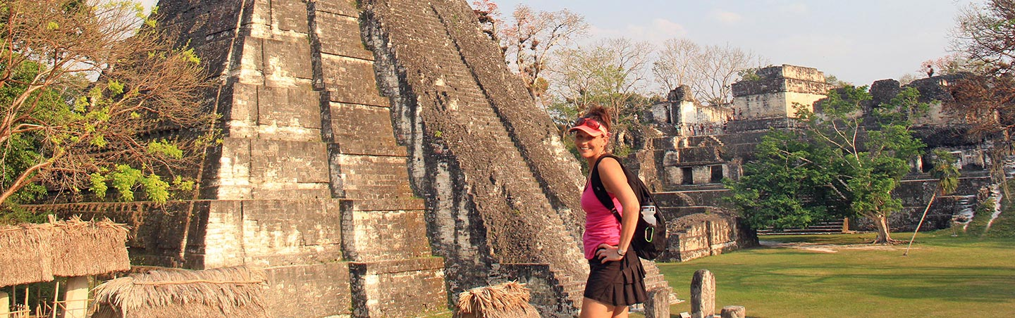 Mayan Temple - Backroads Belize & Guatemala Family Breakaway Multisport Tour
