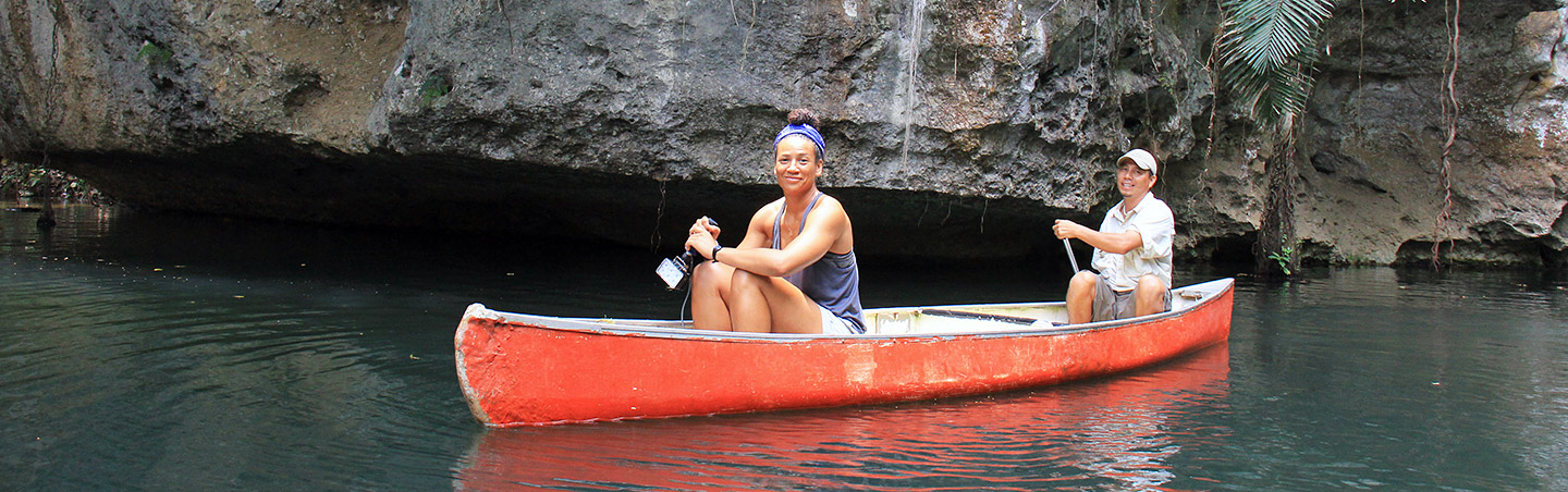 Canoeing - Backroads Belize & Guatemala Multisport Adventure Tours
