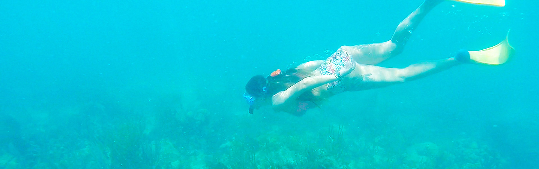 Snorkeling - Backroads Belize & Guatemala Family Breakaway Multisport Tour