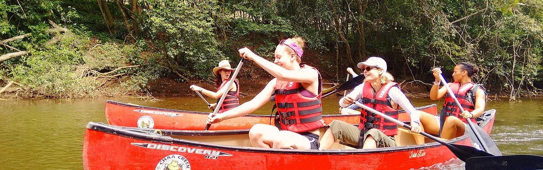Canoeing - Backroads Belize & Guatemala Family Breakaway Multisport Tour