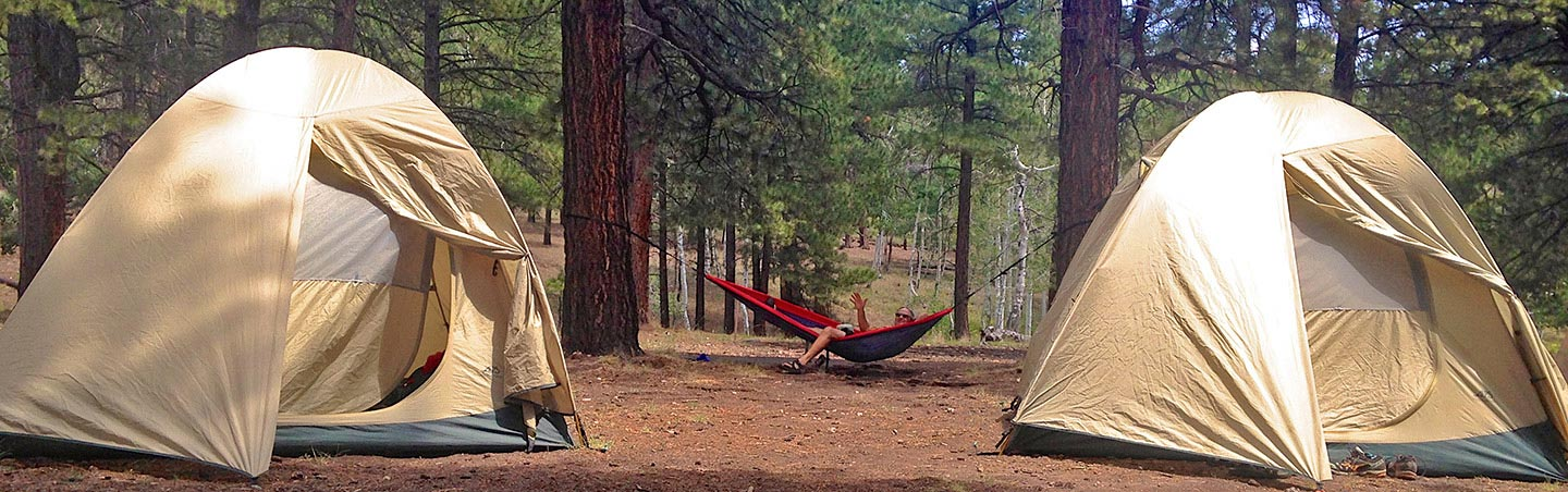 Camping on Bryce and Zion Multisport Adventure Tour