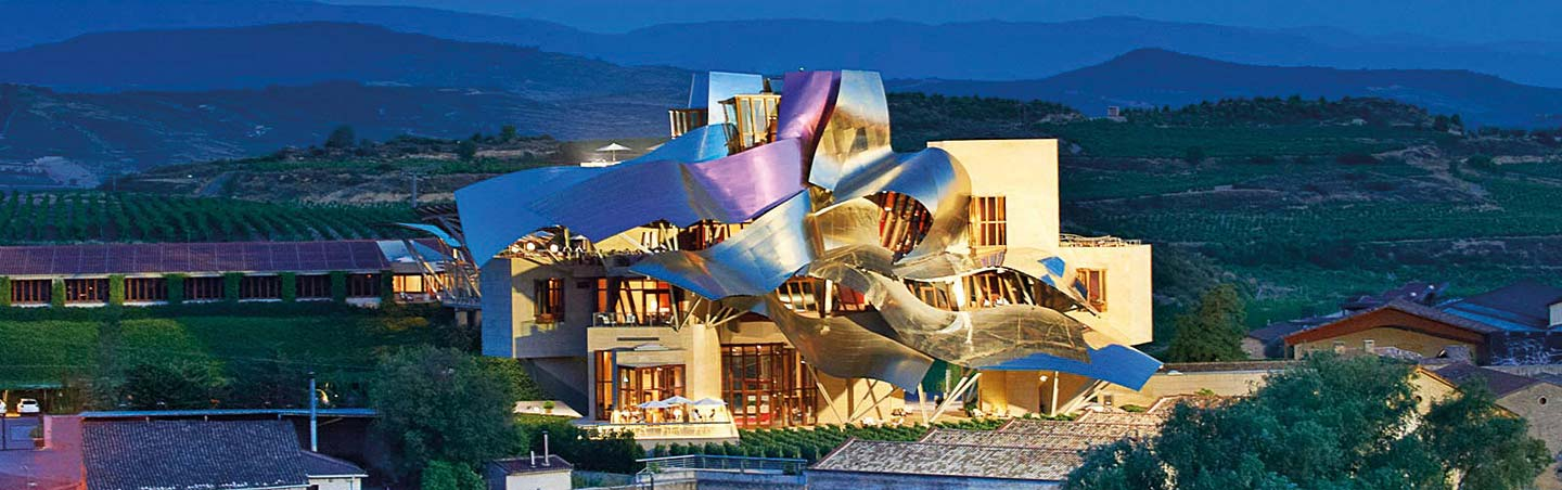 Hotel Marques de Riscal - French Pyrenees-Spain Rioja Walking & Hiking Tour