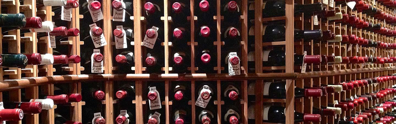 Wine cellar - Backroads Canadian Rockies Multisport Adventure Tour