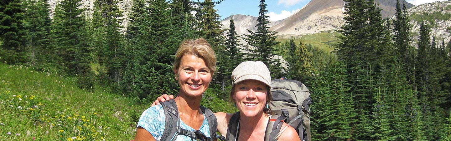 Hiking on Backroads Canadian Rockies Multisport Adventure Tour
